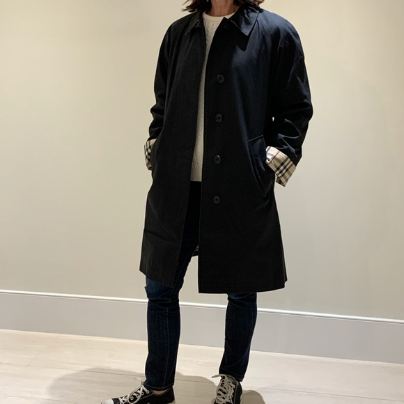 Burberry Black Camden Car Coat
